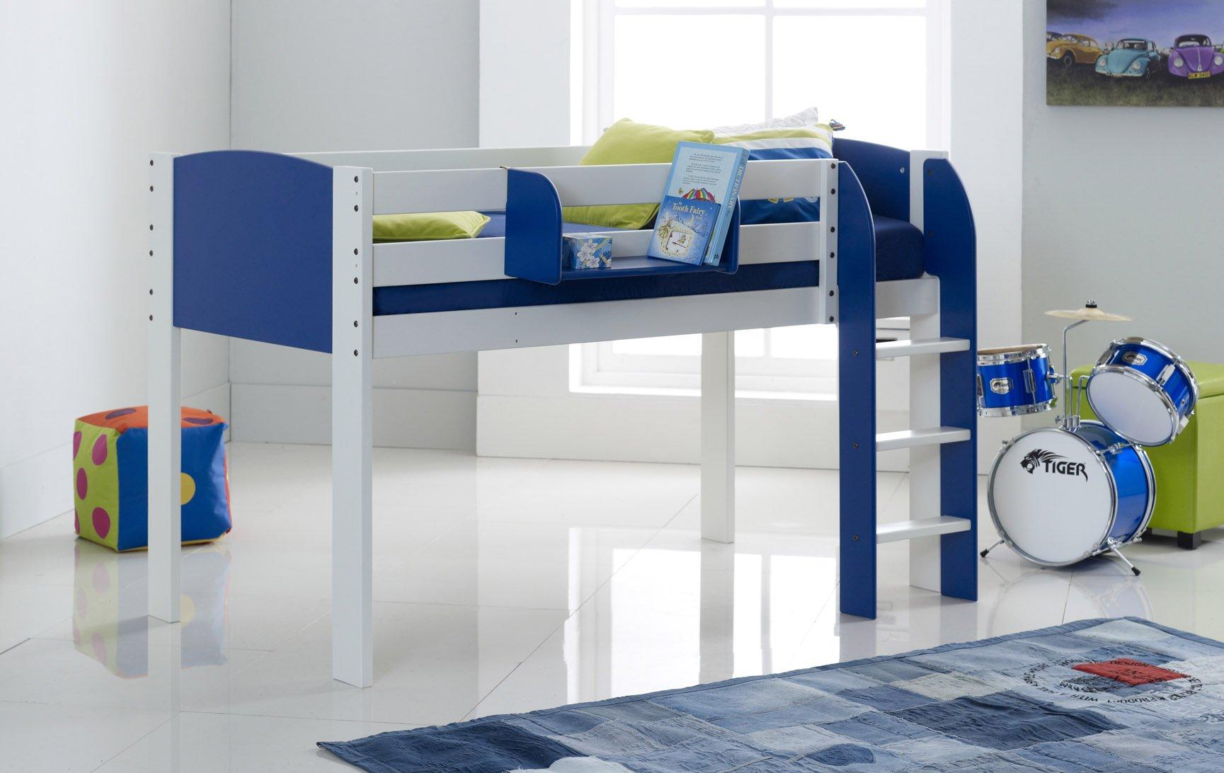 Blue Cabin Bed