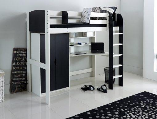 High Sleeper Beds with Desks