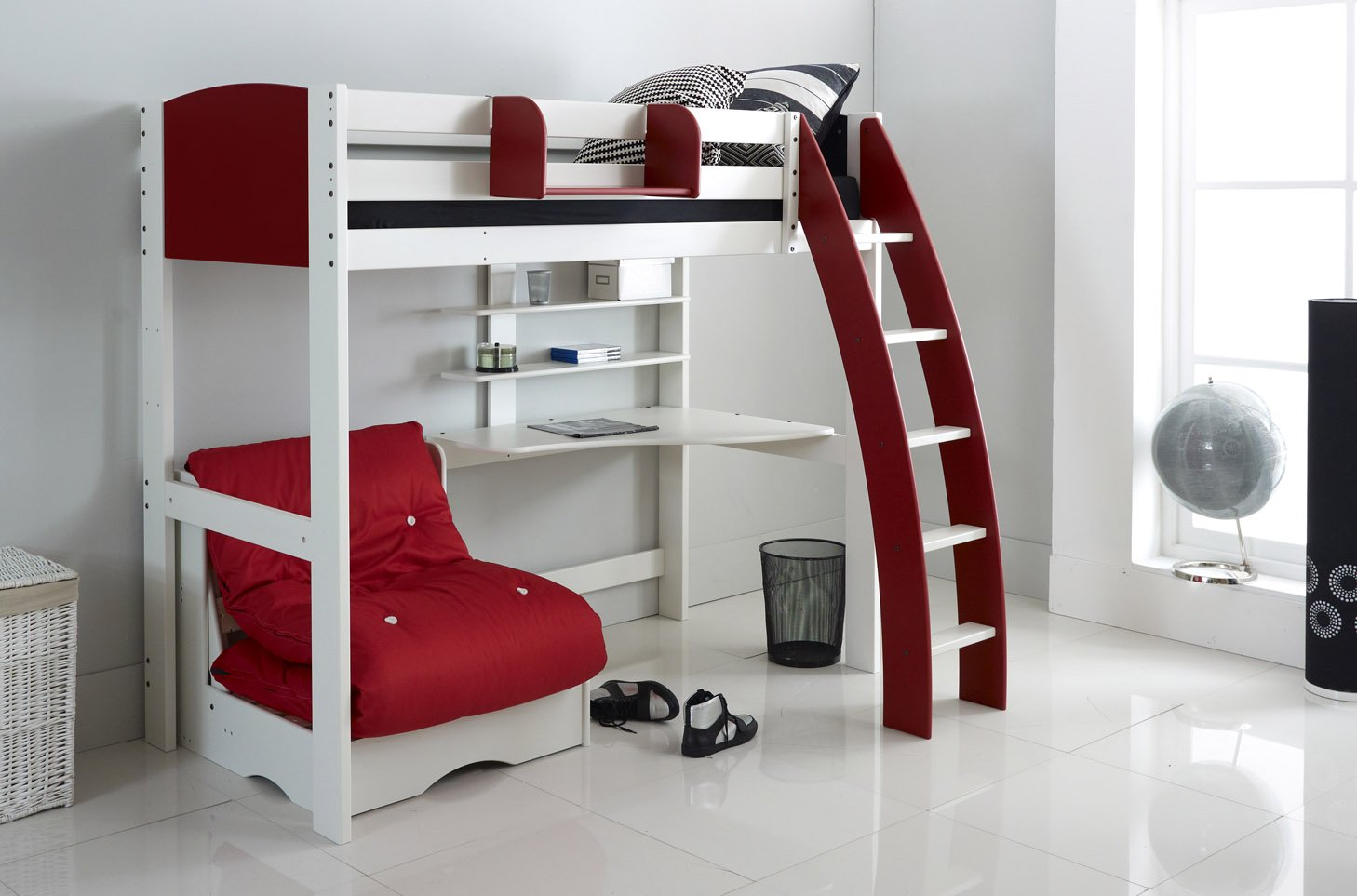 scallywag kids exclusive high sleeper bed