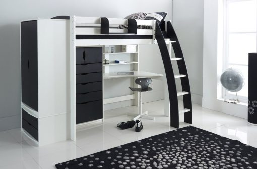 High Sleeper Beds with Furniture