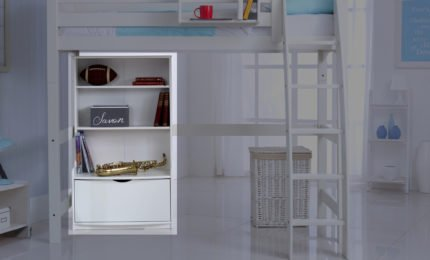 Bookcase Unit (shown in white)