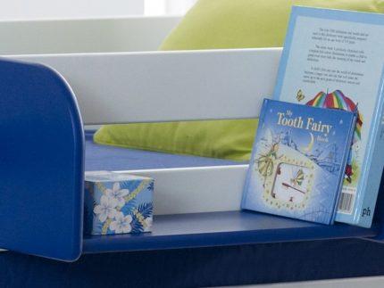 Hook On Shelf (shown in blue)