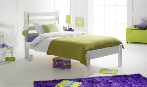 Brooklyn Bed in White