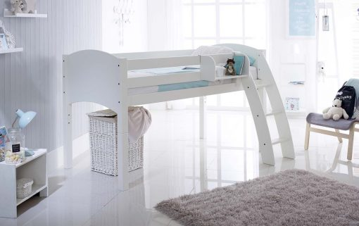 Mid Sleeper Cabin Bed Curved Ladder