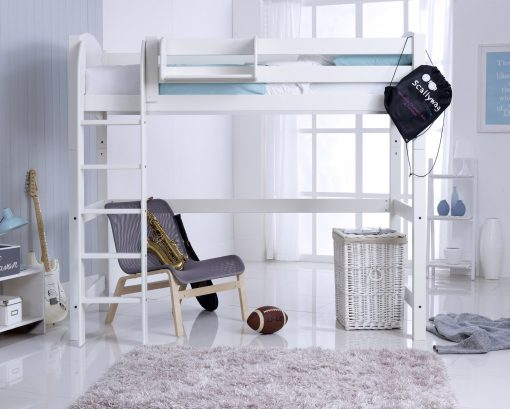 Starter Bed with High Sleeper Conversion Kit Straight Ladder