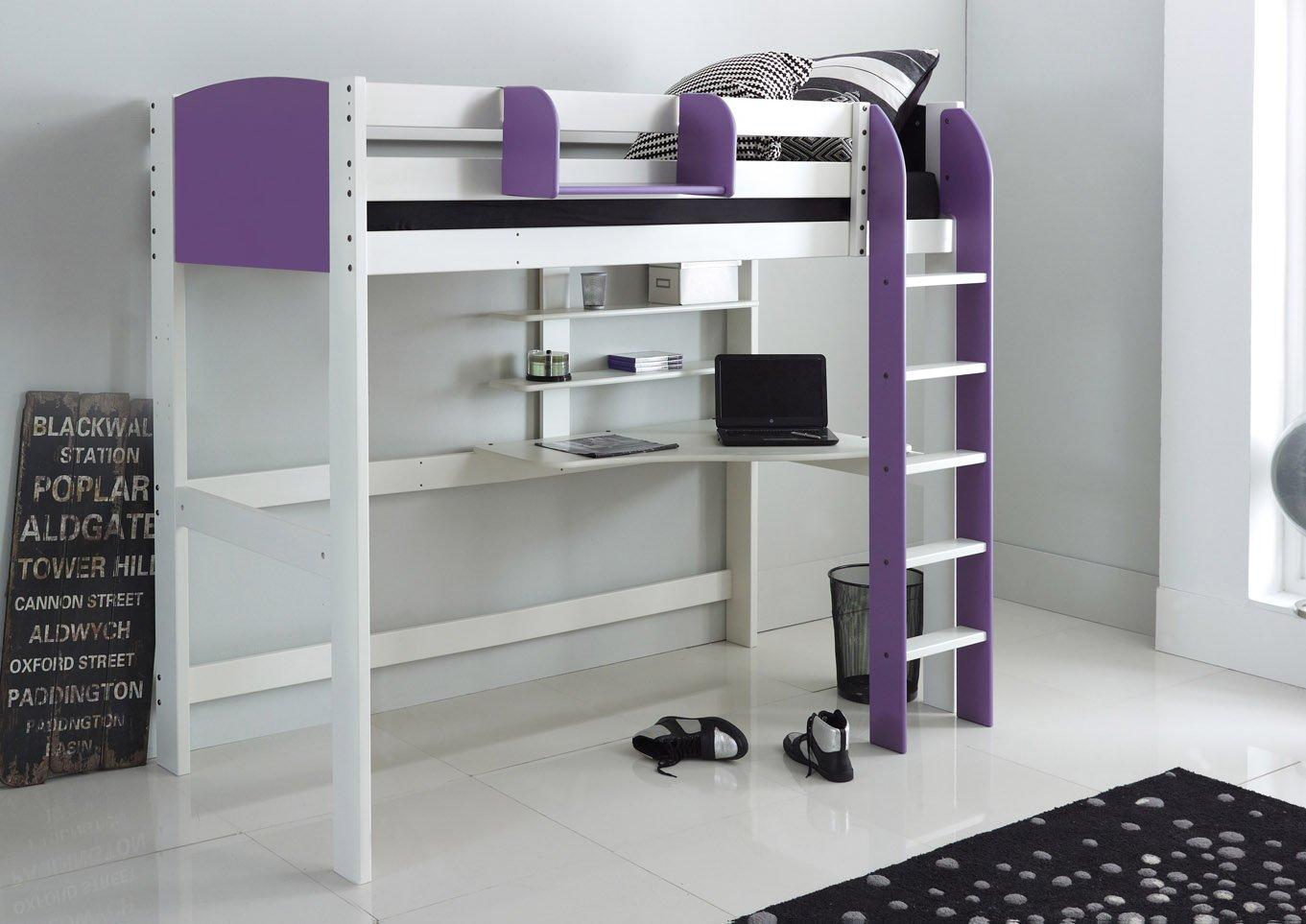 Lilac Kids High Sleeper Beds