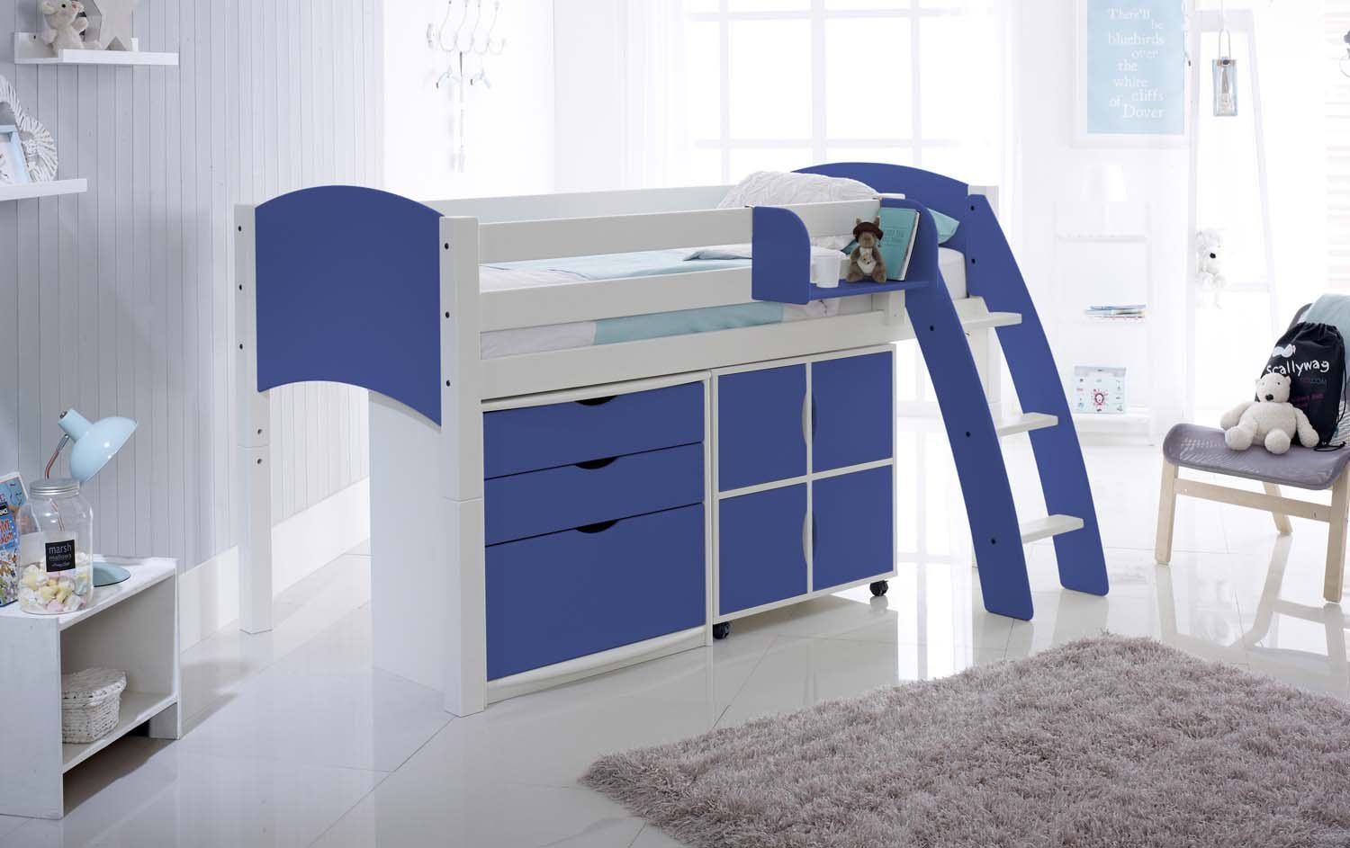 Scallywag Convertible Midsleeper Cabin Children 39 S Bed With