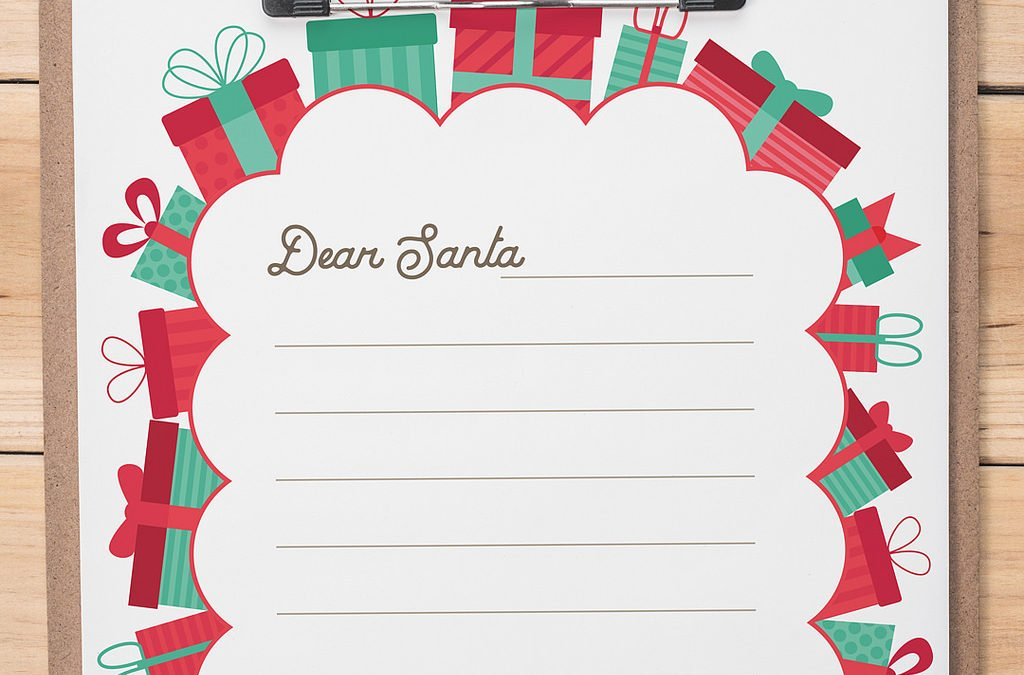 This Year's Kids' Christmas Wishlist