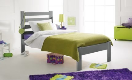 Brooklyn Bed Soft Grey