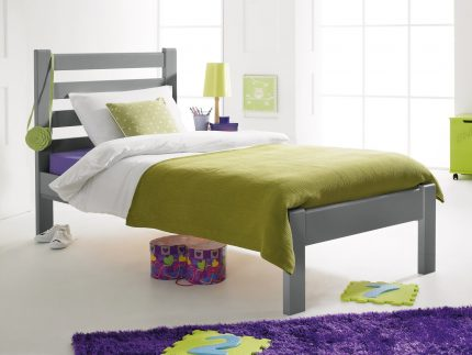 Brooklyn Bed Soft Grey