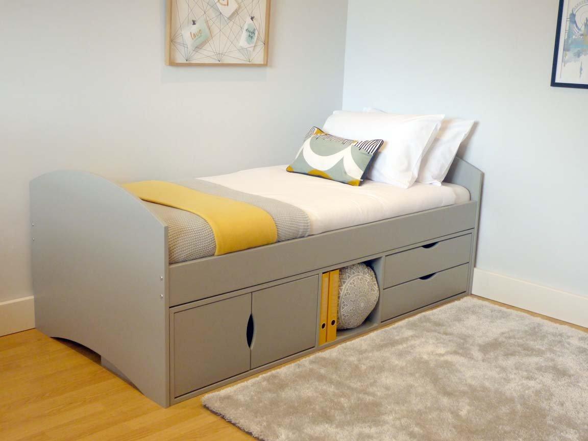 children 39 s storage bed richmond storage bed for kids scallywag kids. Black Bedroom Furniture Sets. Home Design Ideas