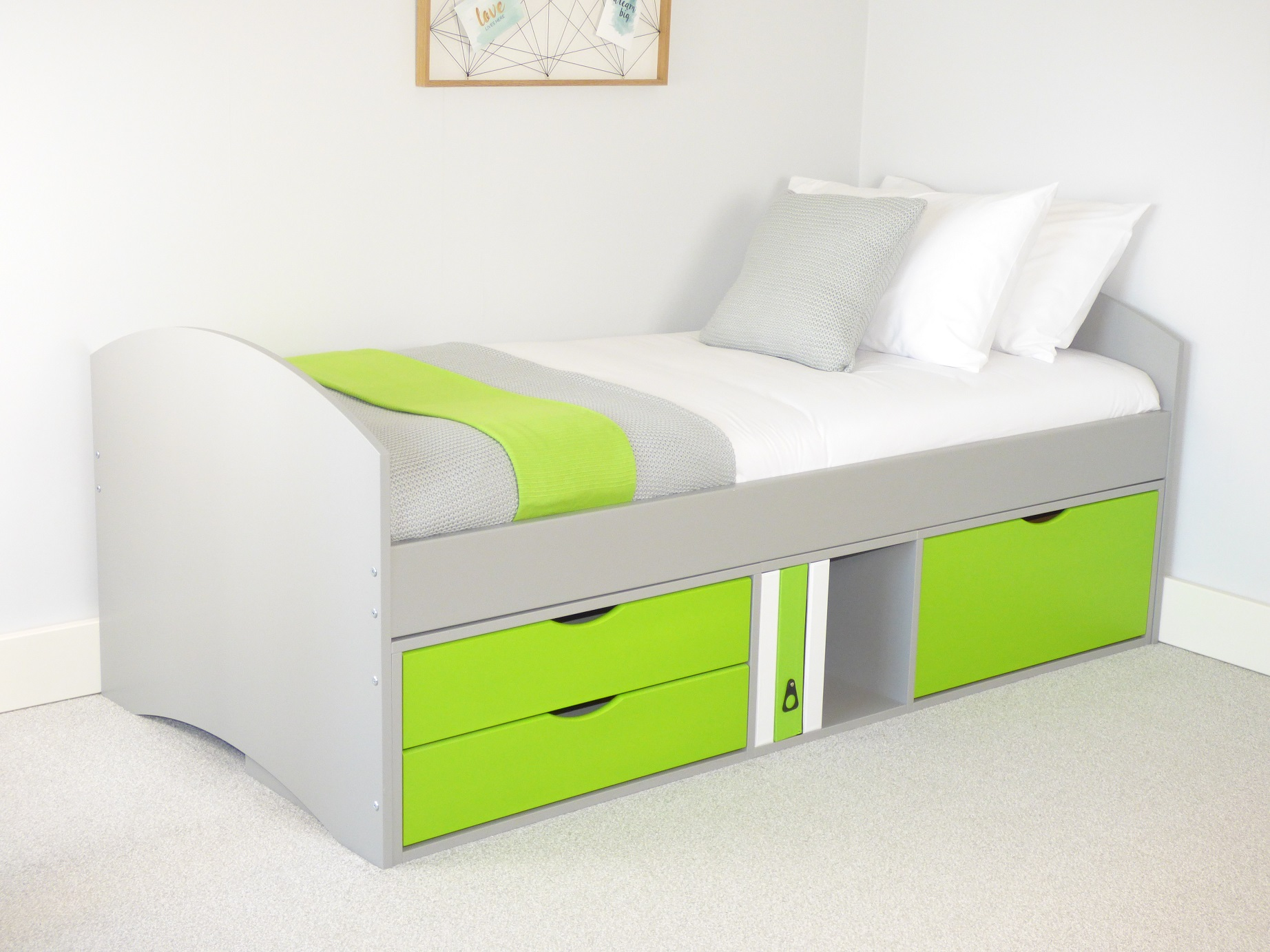Kids Bed with Storage Drawers | Richmond Childrens Bed ...