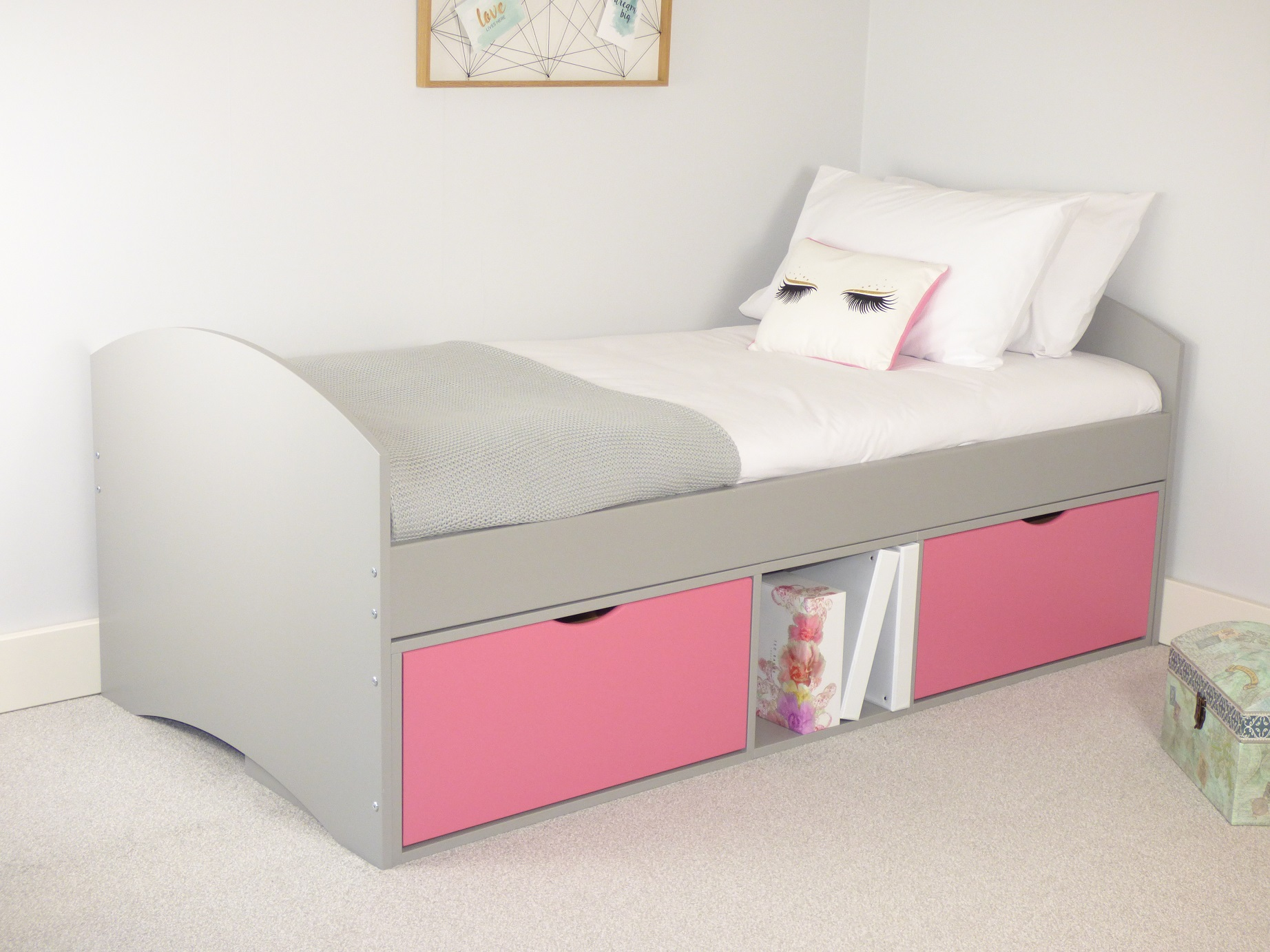 Bed With Drawers Richmond Childrens Storage Bed