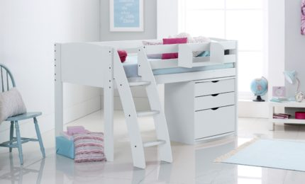 Cabin Bed with 3 Drawer Chest